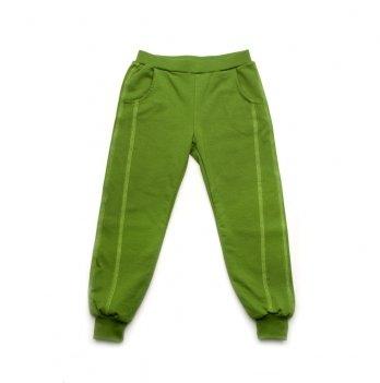 Брюки детские спортивные Модный карапуз, зеленые 03-00700
