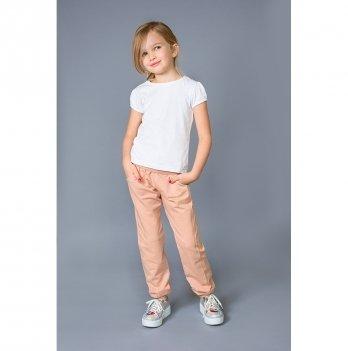 Брюки детские спортивные Модный карапуз, пудровые 03-00700