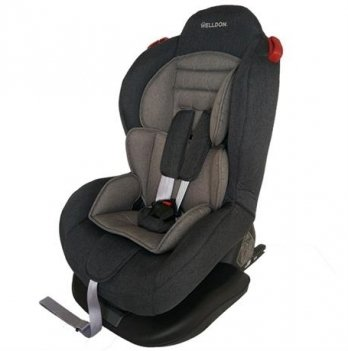 Автокресло Welldon Smart Sport Isofix графитовы/серый