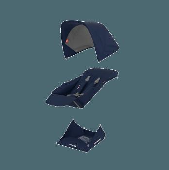 Текстиль сиденья для коляски Greentom Upp Reversible D Blue