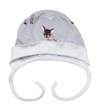 Чепчик Minikin Малышка лань, серый