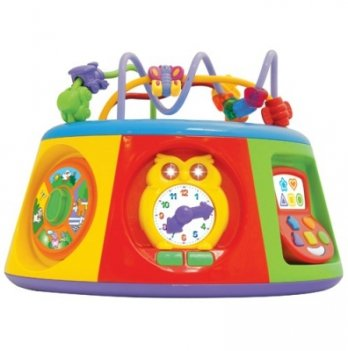 Игровой центр Мультицентр, Kiddieland - preschool, свет, звук на укр. языке