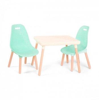 Детский набор мебели Battat Мятный-Айвори коллекции Kid century modern BX1663Z
