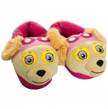 Тапочки-игрушки Disney Щенячий патруль розовые