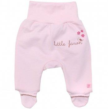 Ползунки для новорожденных  Minikin Малышка лань, розовые