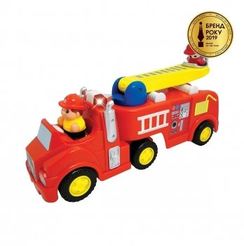 Развивающая игрушка Пожарная машина Kiddieland 043265