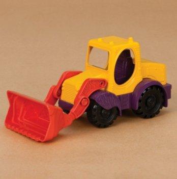 Игрушка для игры с песком Мини-экскаватор, Battat,цвет манго-сливово-томатный