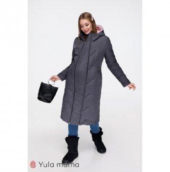 Зимняя куртка для беременных MySecret Tokyo Графит Розовый OW-49.022
