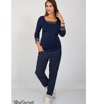Брюки boyfriend для беременных MySecret Keira TR-37.051 синий