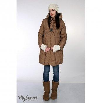 Зимняя куртка для беременных MySecret Neva Бежевый OW-46.083