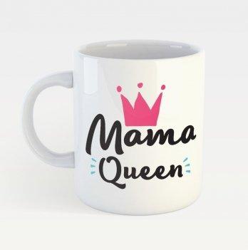 Чашка с принтом Memiks Мама Queen