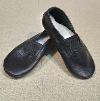 Чешки кожаные PaMaYa Черный ч-3