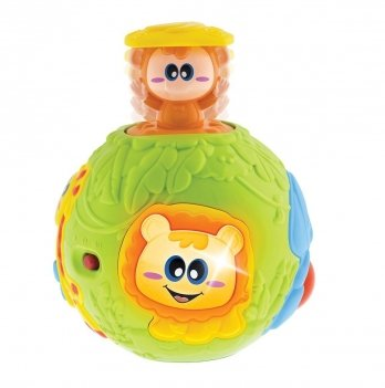 Игрушка музыкальная Pop up ball Chicco 09340.00
