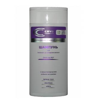 Натуральный шампунь для склонных к выпадению волос Cryo Cosmetics