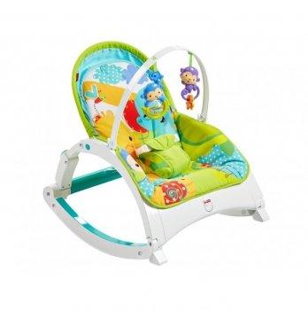 Портативное кресло-качалка Fisher- Price Растем вместе