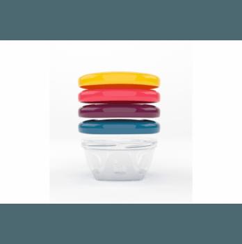 Набор контейнеров для еды Babybols, Babymoov, 120ml (x4)