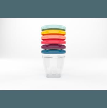 Набор контейнеров для еды Babybols, Babymoov, 180ml (x6)