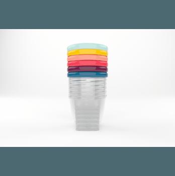 Набор контейнеров для еды Babybols, Babymoov, 250ml (x6)