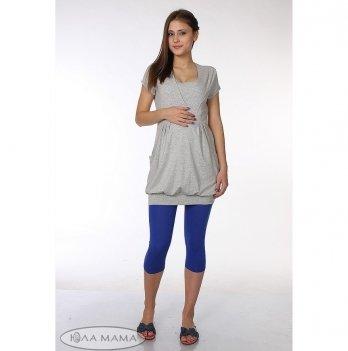 Лосины для беременных MySecret Mia new SP-26.015 трикотажные, синий электрик