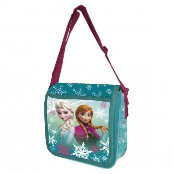 Сумка Disney Холодное сердце (Frozen), через плечо, бирюзовая