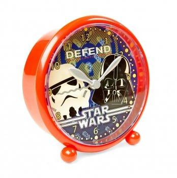 Будильник Disney Звездные войны (Star Wars), красный