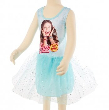Платье Disney Я Луна (Soy Luna), голубое