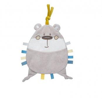 Игрушка мягкая Canpol babies Pastel Friends Серый 68/067