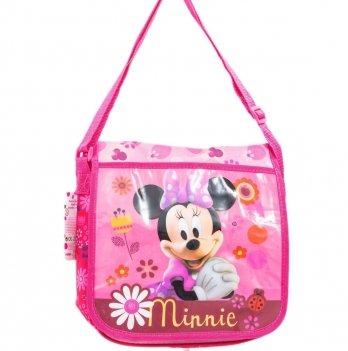 Сумка Disney Минни Маус (Minnie), через плечо, розовая