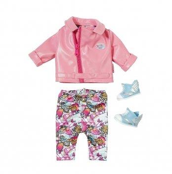 Набор одежды для куклы Baby Born - Глем - Рок, Zapf Creation
