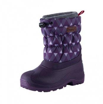 Сапоги зимние для детей Reima Ivalo, фиолетовые