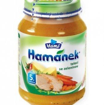 Пюре Hame Hamanek Телятина с овощами 190 г