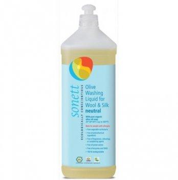Органическое жидкое стиральное средство для шерсти и шелка Sonett. Нейтральная серия. Концентрат. 1 л