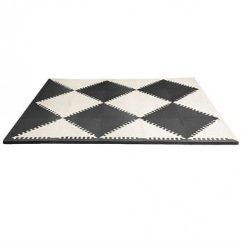 Игровой коврик-пазл Skip Hop Playspot Geo Black/Cream