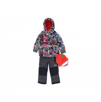 Демисезонный костюм (куртка и штаны + шапка) Deux par Deux PI 55
