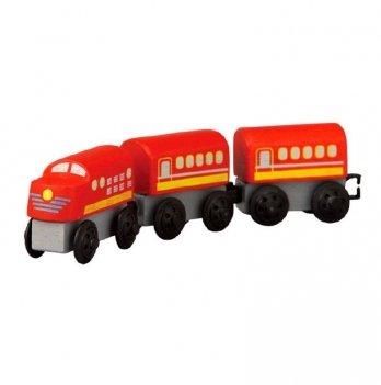 Деревянная игрушка PlanToys® Пригородный поезд