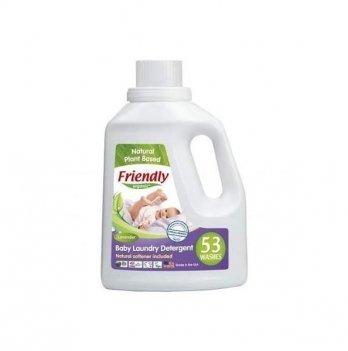 Жидкий органический стиральный порошок Friendly Organic Baby Laundry Det. Lavender, Лаванда, 1567 мл, 53 стирки