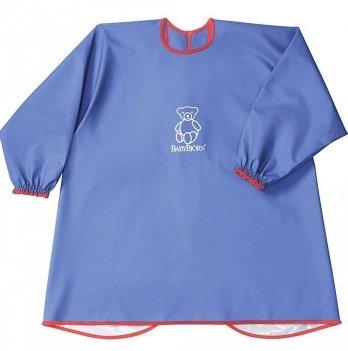 Рубашка для кормления и игр, BabyBjorn, голубая