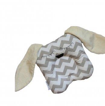Подушка для новорожденных, Merrygoround, Dog  gray