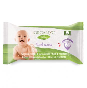 Органические салфетки влажные детские «Нежный Уход», Corman Organyc
