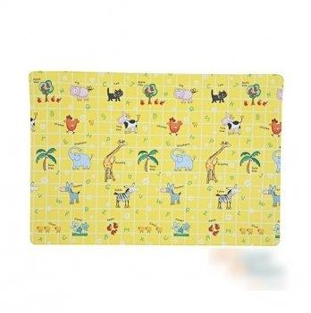 Игровой коврик ALZIPmat ZOO, разноцветный, с рисунком, размер 210 х 140 х 1,2 см