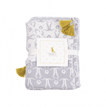 Плед Blankee Bears Silver