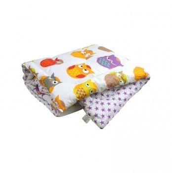 Одеяло детское силиконовое Руно Совы 140х105 см