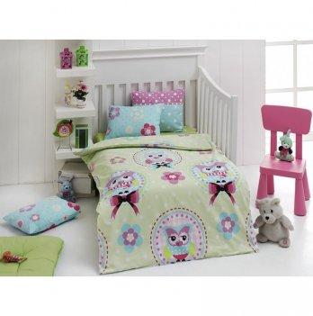 Комплект детского постельного белья Eponj Home Baykus Yesil