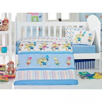 Комплект детского постельного белья Eponj Home Pitircik Mavi