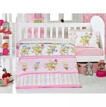 Комплект детского постельного белья Eponj Home Pitircik Pembe