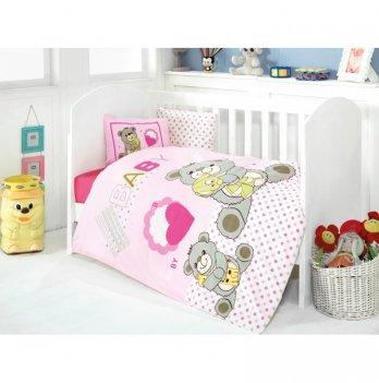 Комплект детского постельного белья Eponj Home Yumos Pembe