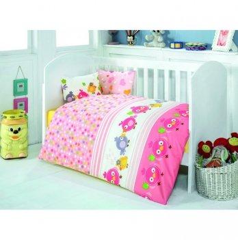 Комплект детского постельного белья Eponj Home Zuzu Pembe