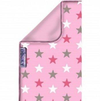 Одеяльце двустронее, Original Dooky, Baby Pink Stars