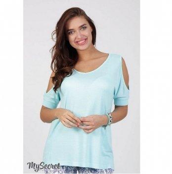 Туника летняя для беременных MySecret Lori TN-28.032 ментол