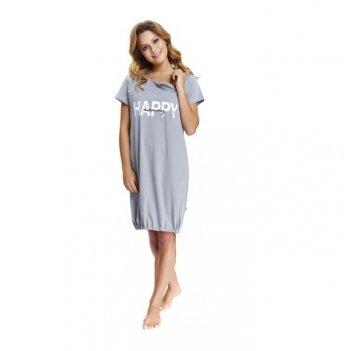 Домашнее платье Dobranocka TCB.9504 grey